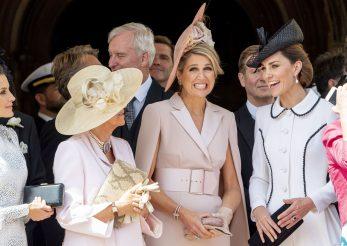 Parada a modei regale la ceremonia Ordinului Jartierei