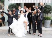 DJ Wanda, nuntă în stil rock-royal