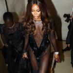 Naomi Campbell - show cromatic la London Fashion Week