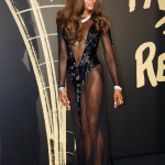 Naomi Campbell - show cromatic la London Fashion Week