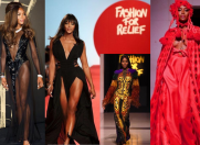 Naomi Campbell – show cromatic la London Fashion Week