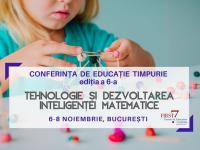 Dezvoltarea intelegenței matematice – Conferința de educație timpurie