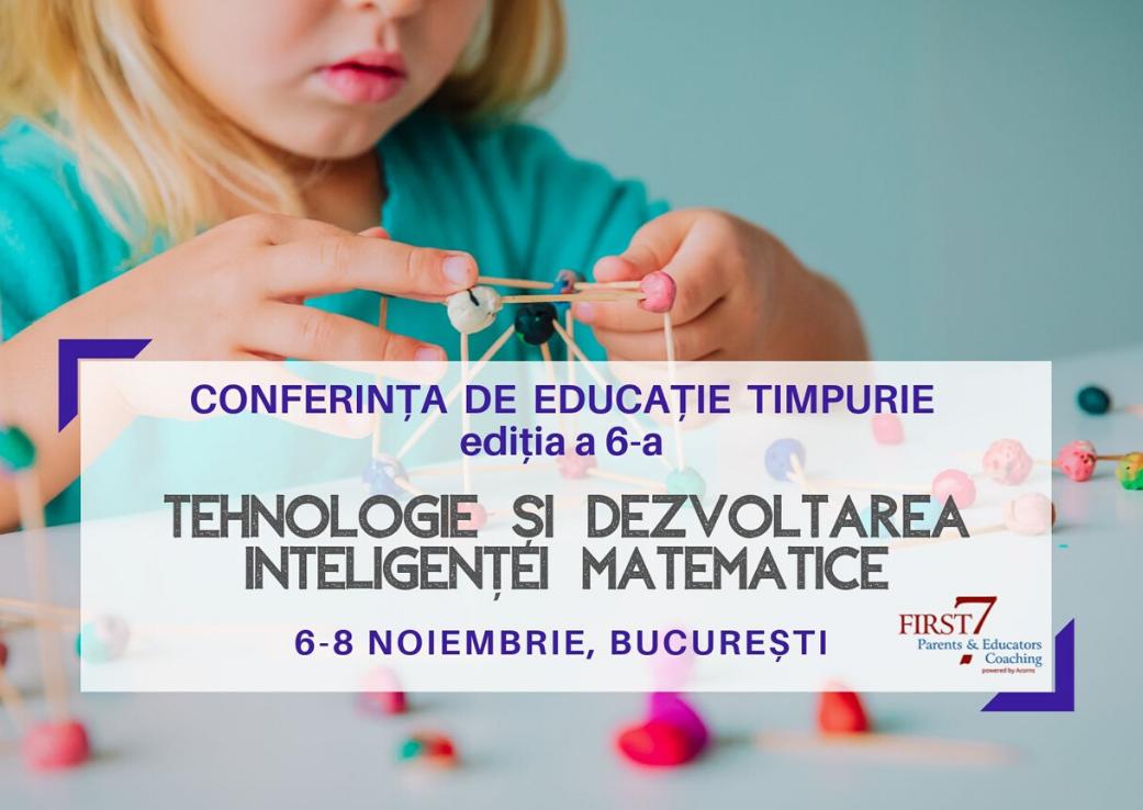 Dezvoltarea inteligenței matematice – Conferința de educație timpurie