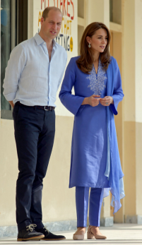 Ducesa Kate – strălucitoare în ținute etnice pakistaneze