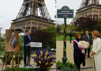Promenada Regina Maria a României, la Paris