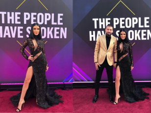 Adelina Pestrițu pe covorul roșu la People's Choice Awards