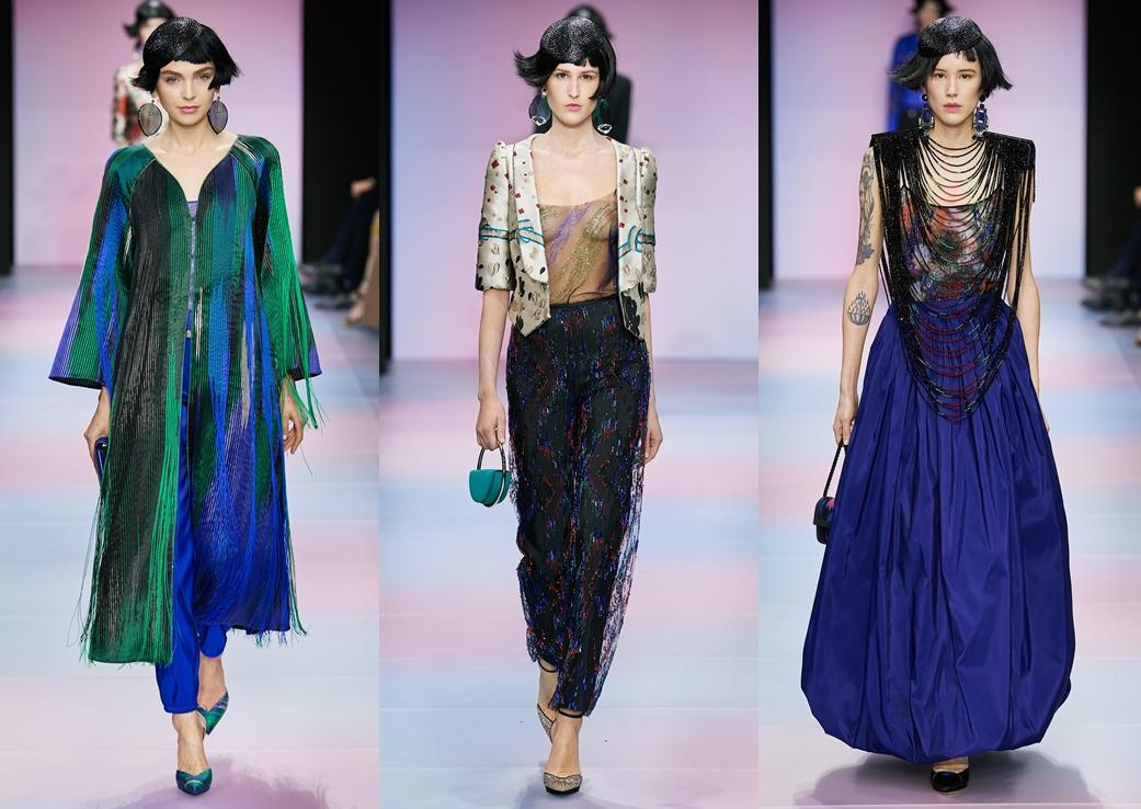 Armani a lansat colecţia couture