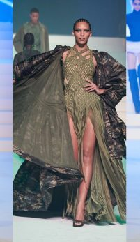 Jean Paul Gaultier, podiumul couture de la Paris