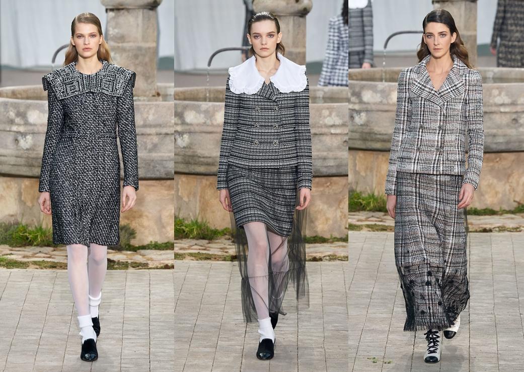Colecţia Chanel couture, primăvară 2020