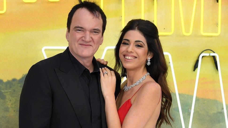 Quentin Tarantino a devenit tată