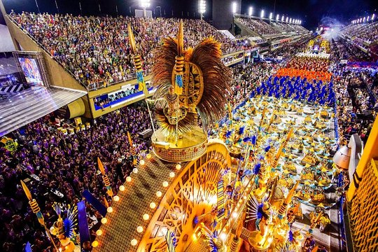 Începe Carnavalul de la Rio de Janeiro