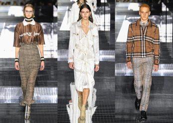 Burberry a încheiat London Fashion Week 2020