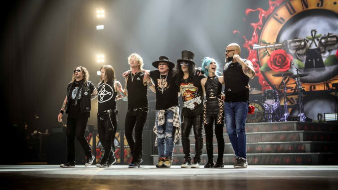 Guns N' Roses şi-a anunţat turneul în Europa