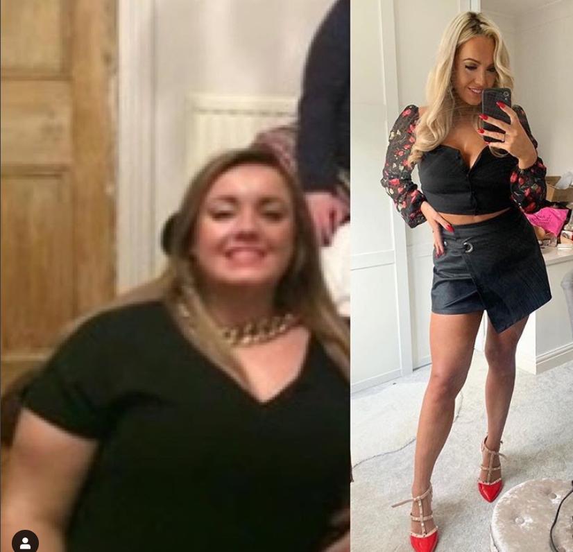De la supraponderală la Miss Marea Britanie