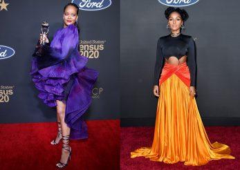 Covorul roşu de la NAACP Awards