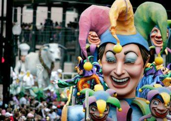 Veselie şi culoare la carnavalul Mardi Gras din New Orleans