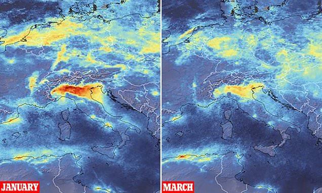 Pandemia reduce poluarea de la nivel global