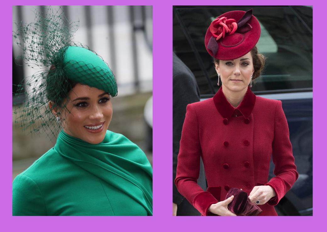 Ultimul salut oficial al celor două ducese
