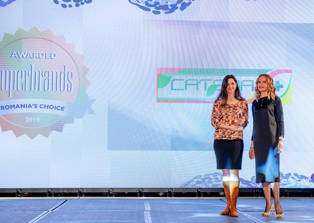 Catena – Superbrand al businessului din România