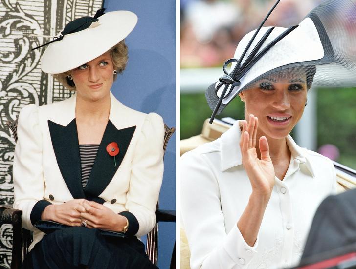 Inspirație de modă pentru cele două ducese, de la prinţesa Diana