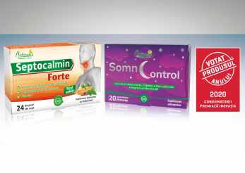 Septocalmin Forte și SomnControl, câștigătoare ale titlului Votat Produsul Anului®