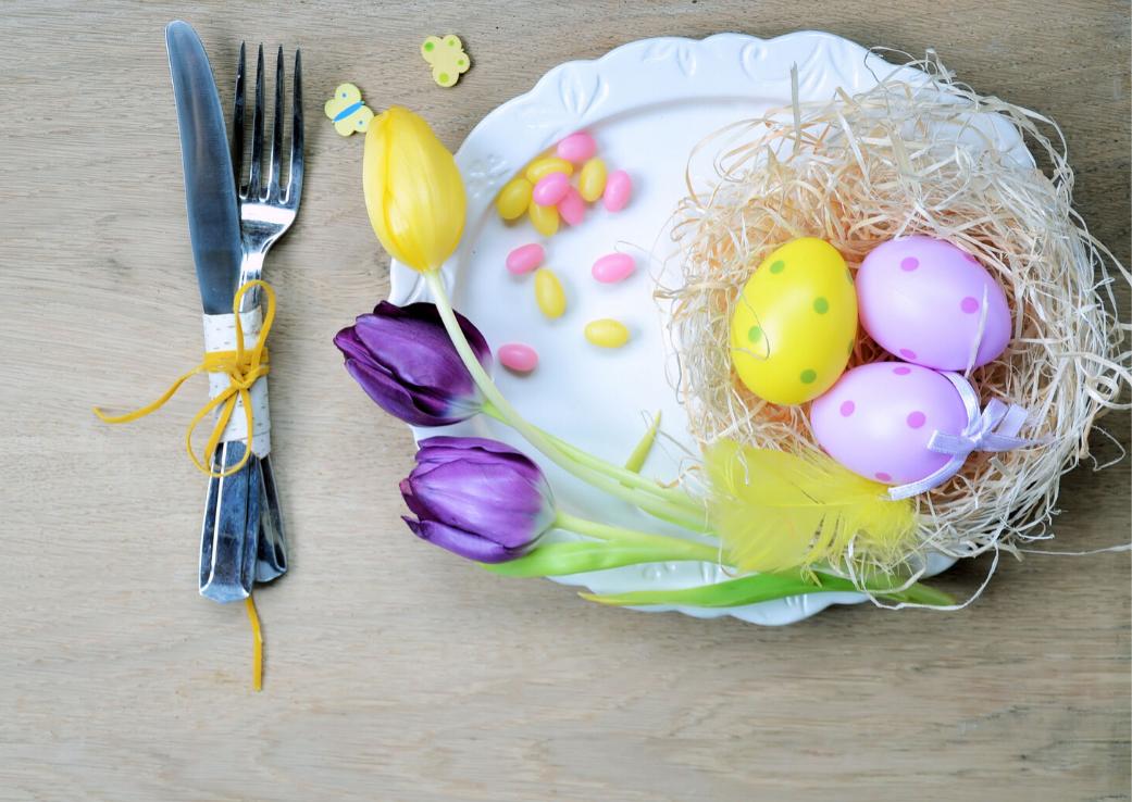 Cum să mâncăm de Paște ca să nu ne îngrășăm