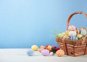 Vopseşte natural ouăle. Fă-le stylish pentru Paște