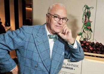 Manolo Blahnik – propunere creativă pentru cei care stau acasă