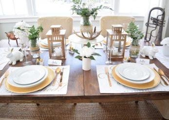 Cum să decorezi casa şi masa de Paște