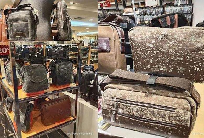 Multă marfă mucegăită în mall