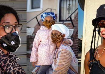 Cele mai creative măşti de pe străzile Brooklynului