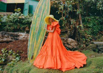 Modele de rochii lungi pentru vară