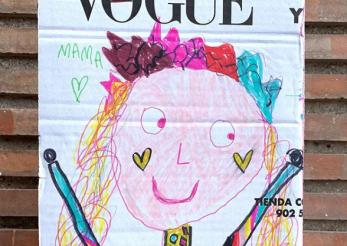 55 de ani de Vogue sărbătoriţi printr-o campanie dedicată celor mici