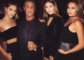 Sylvester Stallone, tată de fotomodele