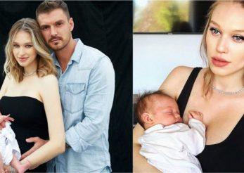 Au apărut primele fotografii cu fetiţa Ginei şi a lui Bogdan Vlădău