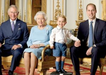 Iată fotografiile aniversare cu Prinţul George