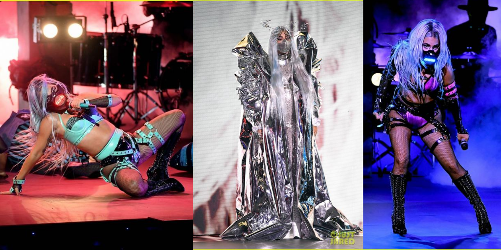Lady Gaga: 9 premii VMA, 9 ținute șocante