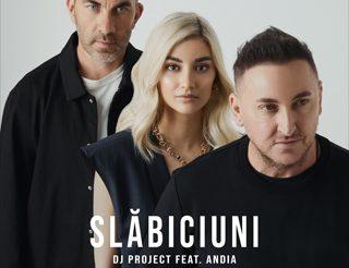 """Piesa """"Slăbiciuni"""" – DJ Project feat. Andia este cea mai ascultată piesă la radiourile din Romania"""