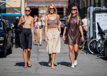 Street style în cadrul Săptămânei Modei de la Copenhaga