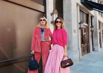 Carmen Negoiţă şi Dana Săvuică, două fashion icon-uri la London Fashion Week