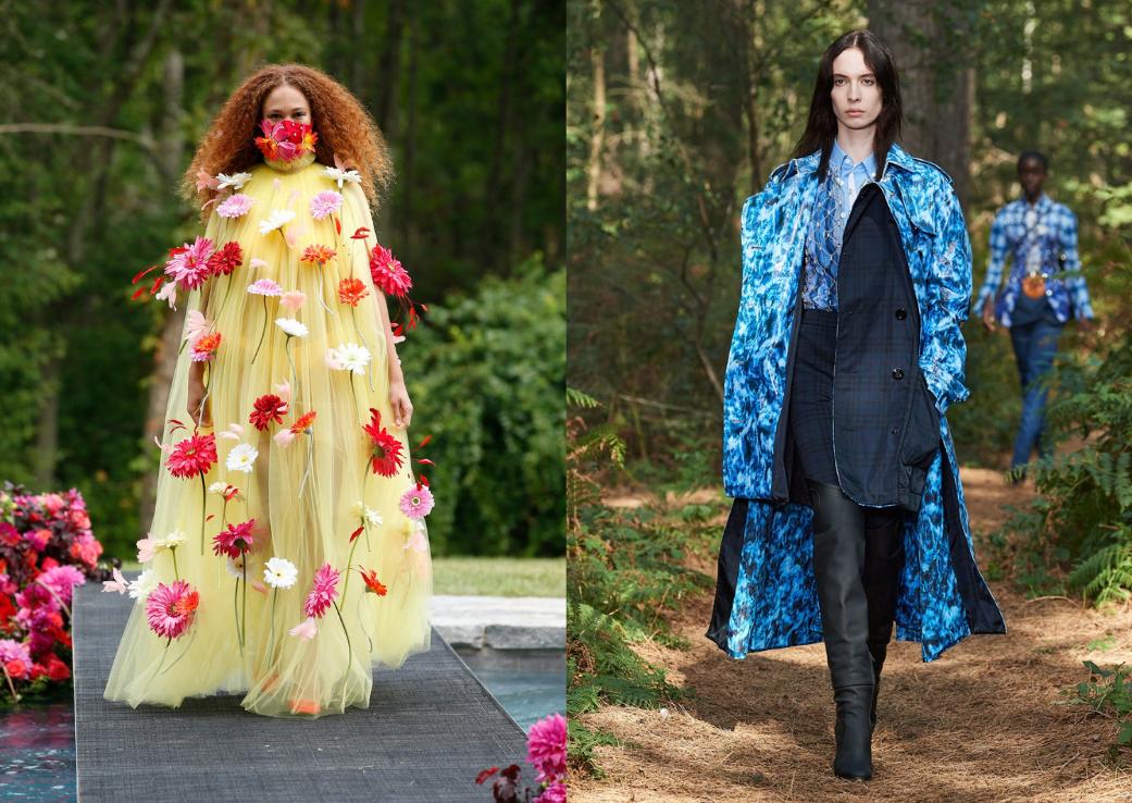 """Modă """"în grădină"""" la Săptămâna Modei de la Londra"""
