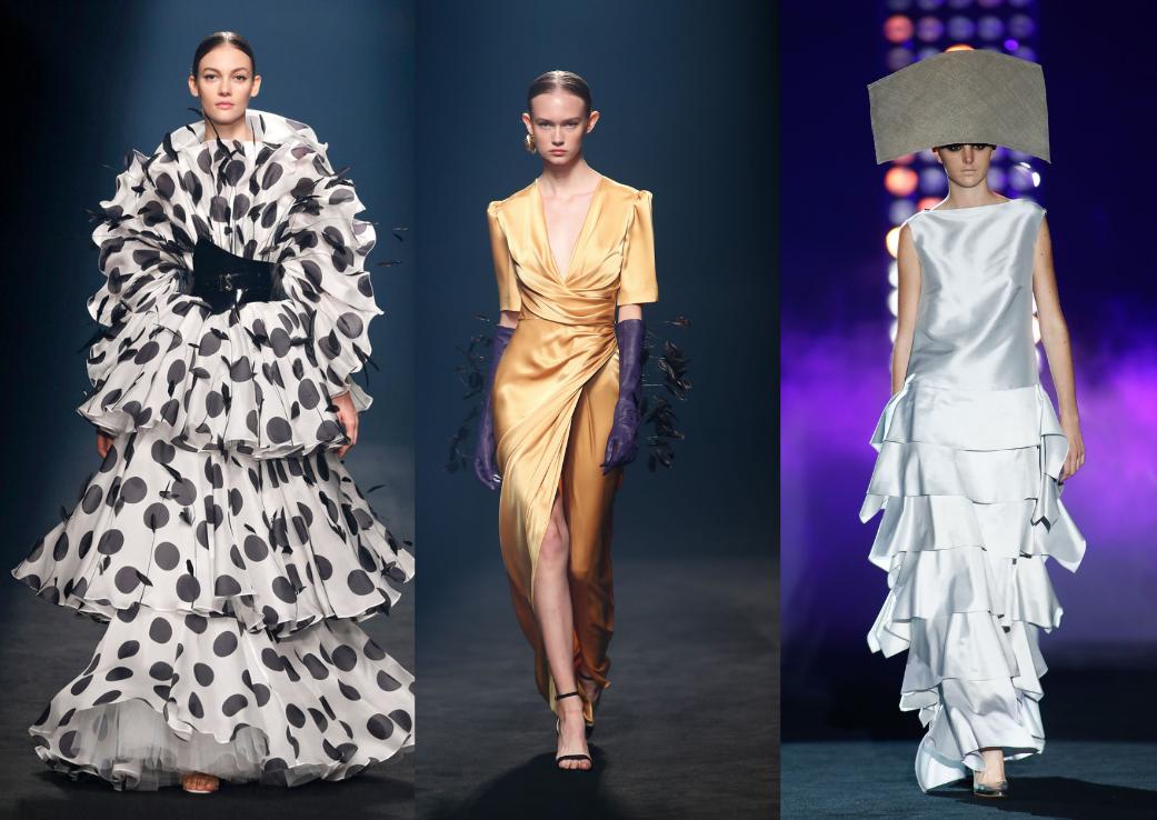 La Madrid, săptămâna modei cu masca de la sponsor