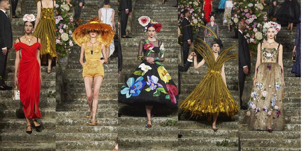 Dolce&Gabbana, tribut opulent adus Florenței