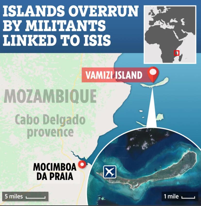 Insula celebrităților, invadată de ISIS