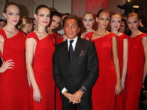 Valentino, peste 1,5 miliarde de dolari, din modă