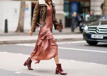 6 moduri cool de a purta rochii cu cizme în această toamnă