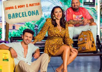 Andra, Dony și Matteo, vacanță la Barcelona