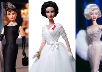 Păpușa Barbie Elton Jonh