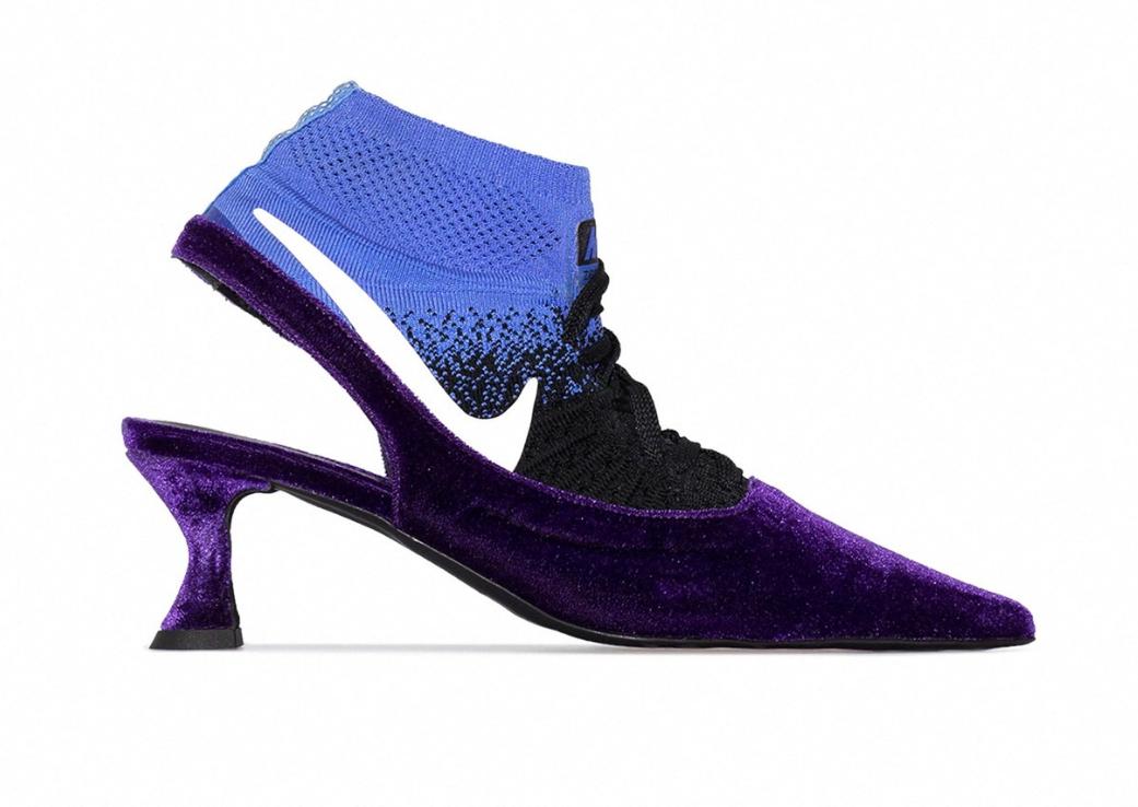 Un designer român reinterpretează încălțămintea Nike