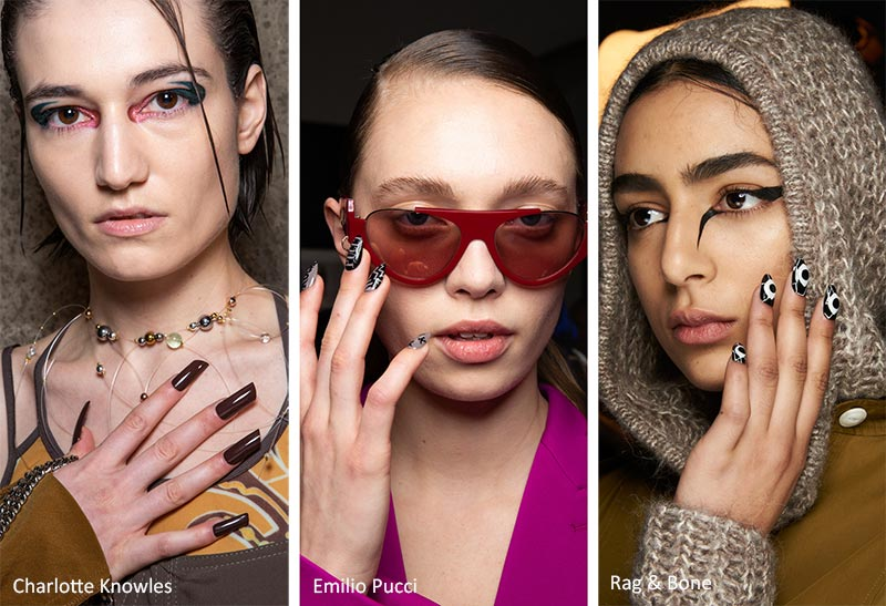 Modele de unghii direct de pe catwalk